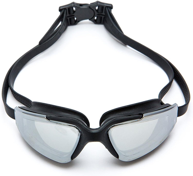 Schwimmbrille Wasserdichte und Nebel HD Schwimmen Brille Männer und Frauen Erwachsene Sport ZHJING (Farbe   SCHWARZ) B07G6Z1D9H  Guter weltweiter Ruf
