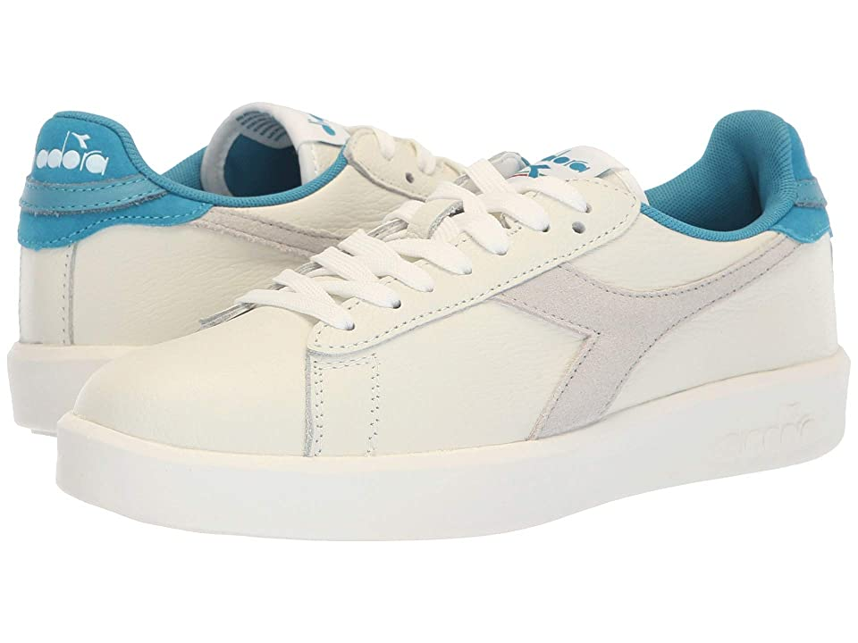 Diadora Game Wide L (White/Blue Moon) Women