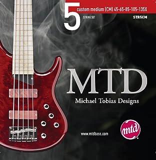 MTD Kingston 5 String Set, Stainless Steel, Medium. (45-65-85-105-130X)