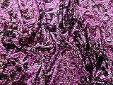 Stretch-Samt-Stoff, abstrakte Textur, Rosa, Violett,