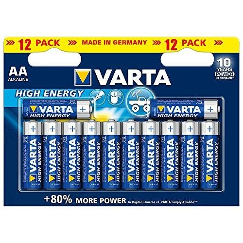 Varta Batterie Alkali Mignon (AA) - High Energy (power