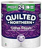 Quilted Northern Ultra Plush Toilet Paper, 6 Mega Rolls...