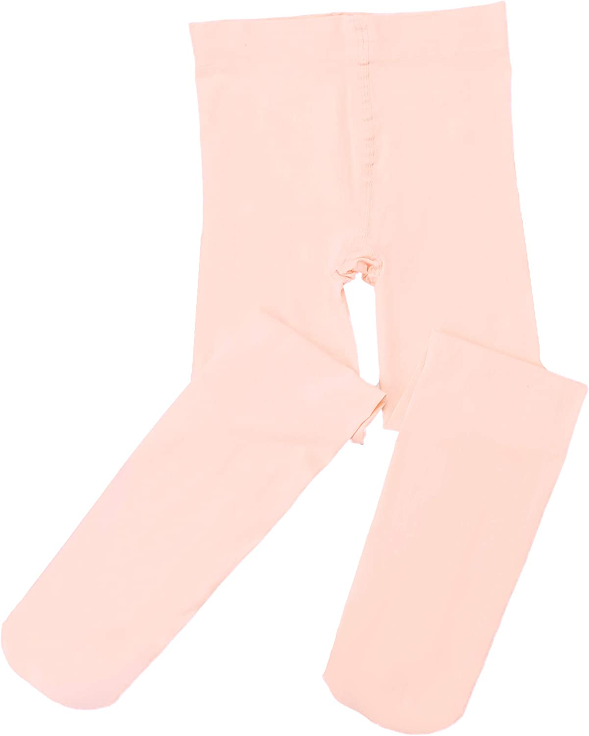 Girls Ballet Footed Tights,Dance Leotards/Legging Pants Tight,Ultra Soft Self Knit Waistband for Toddler/Little/Big Kid