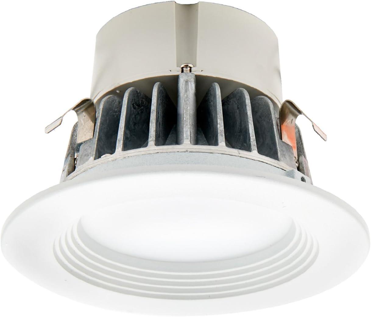 Electrix DWR4FF9 Essential LED Recessed Light Retrofit Kit, Fixe