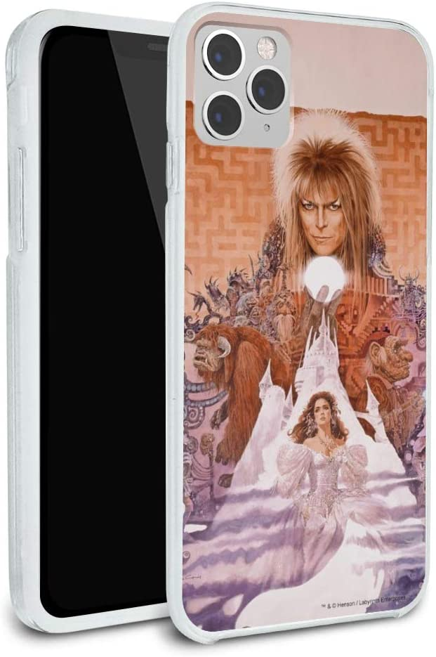 Labyrinth Movie Art Goblin King Jareth David Bowie Protective Slim Fit Hybrid Rubber Bumper Case Fits Apple iPhone 8, 8 Plus, X, 11, 11 Pro,11 Pro Max