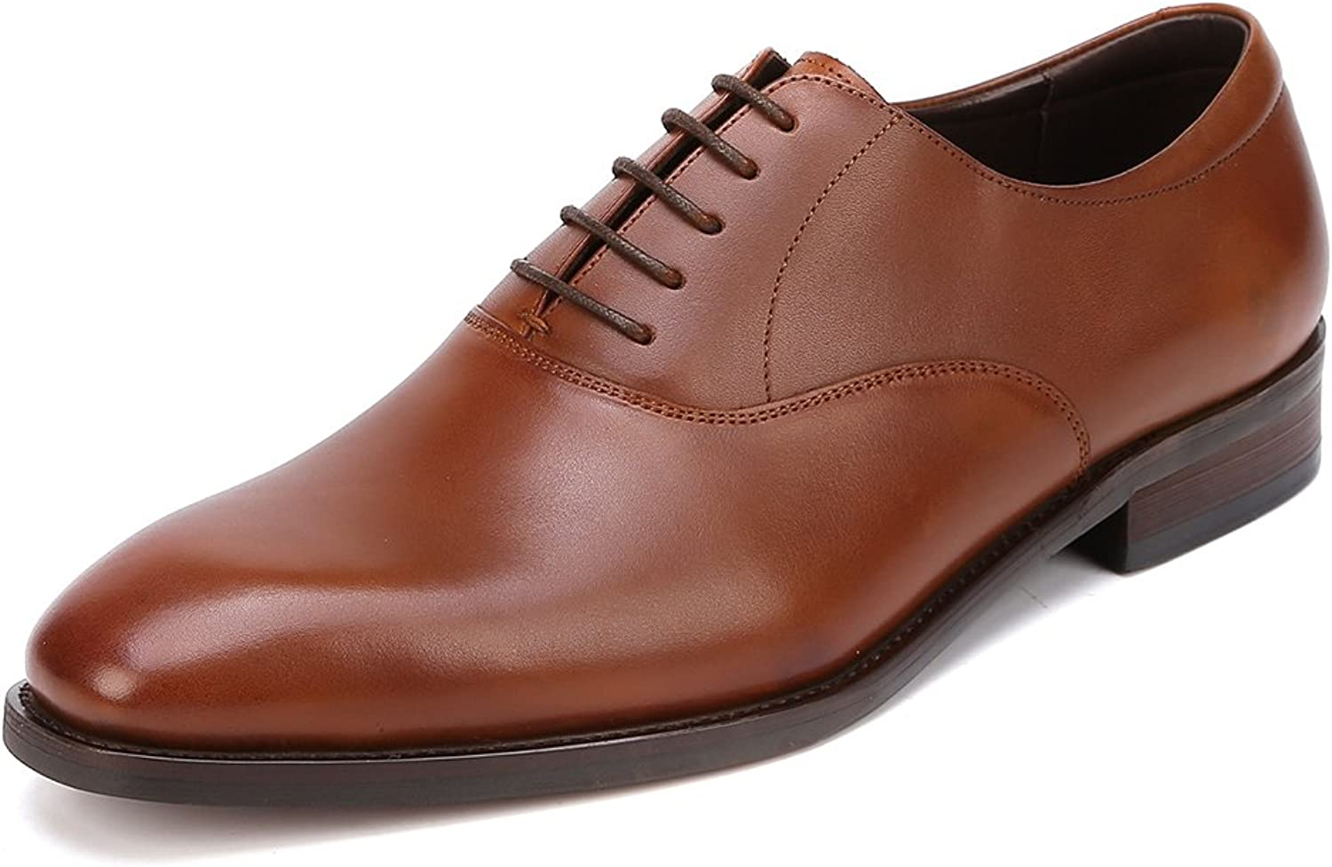 UNbox Mens Handcrafted Genuine Leather Classic Brogue Dress Oxfords shoes