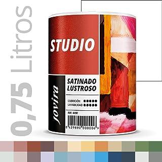 PINTURA SATINADO LUSTROSO ANTIMOHO. Protege y decora paredes y techos donde se requieren acabados muy exigentes. (750ML, BLANCO)