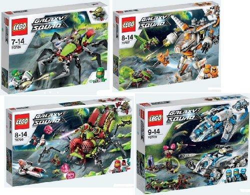 LEGO Galaxy Squad Set 70706 70707 70708 70709