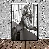 DNJKSA Kate Moss Young Picture Home Decor Leinwand Malerei