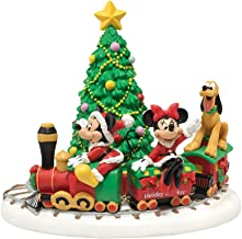 Department 56 Disney Village Miniature Display Piece Mickey's Holiday Express