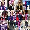 Showjarlly Jombo treccia capelli sintetici 100 g/PC 61 cm lungo Kanekalon africano trecce extension 3pcs/lotto #5
