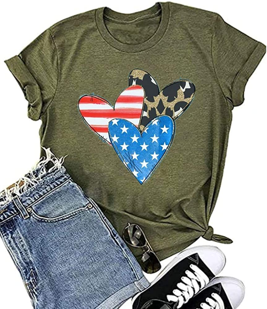 Ymoshoe July 4th Shirts for Max 59% OFF Sale SALE% OFF Women Flag Patriotic American Truck