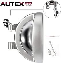 AUTEX 81633 Chrome Interior Door Handle Front/Rear Right Passenger Side Compatible with Dodge Nitro 2007 2008 2009 2010 2011 Door Handle 68004828AA