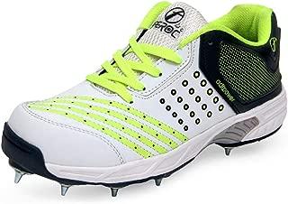 Feroc ADF Green Metal Cricket Spikes Shoes