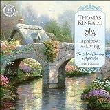 Thomas Kinkade Lightposts for Living?: 2009 Wall Calendar