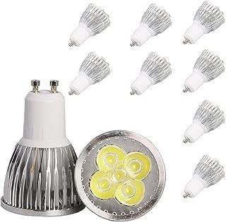 4 pezzo GU10 Lampadine faretti LED 2,5W 48 SMD 2835 AC220V 6500K Bianco Freddo 120/°Angolo Del Fascio,Applicabile alla decorazione soggiorno e cos/ì via