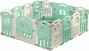 Large Playpen for Baby Panels Activity Center  Baby Playpen Indoor Safety Play Yard with DIY Different Shapes  No quot Dangerous Gaps quot