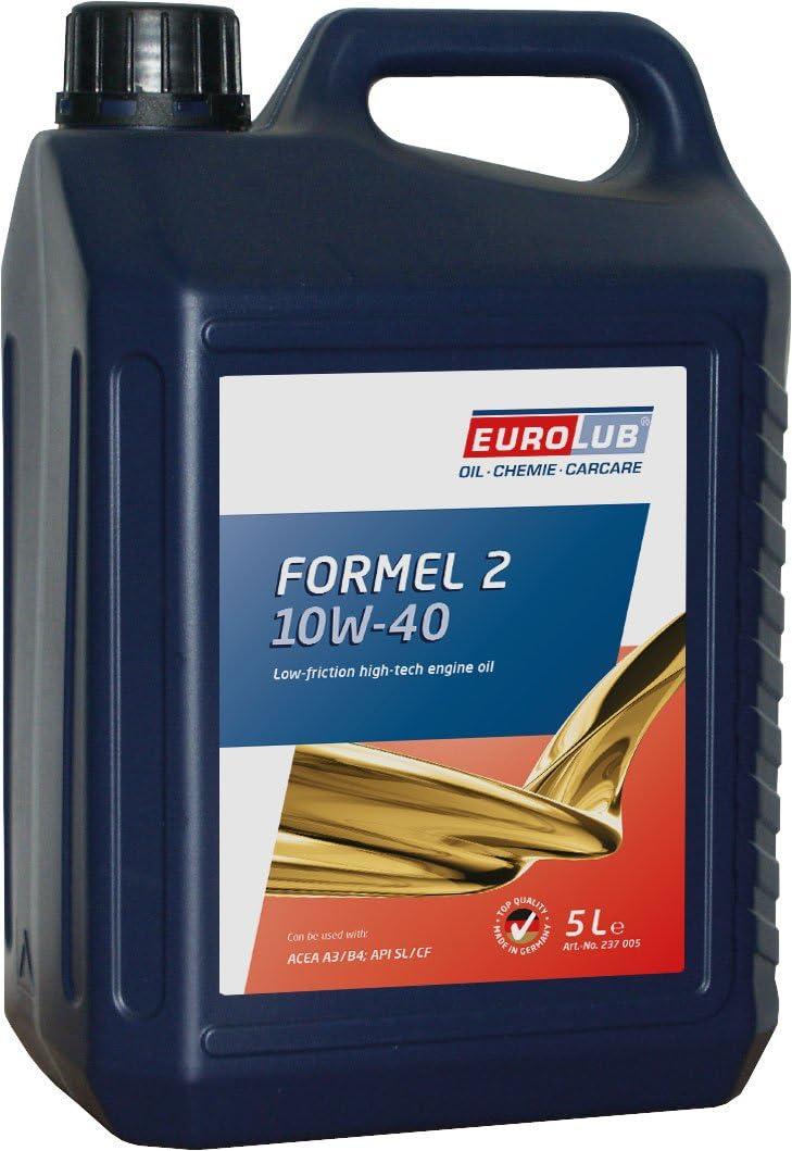 Eurolub Formel 2 Sae 10w 40 Motoröl 5 Liter Auto