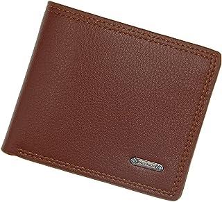 BeniMen's wallet short large capacity casual wallet-light brown