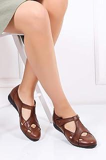 TARÇIN Hakiki Deri Günlük Kadın Ayakkabı TRC119-0214
