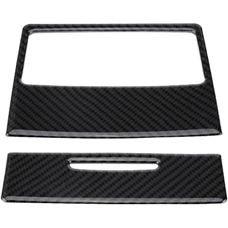 Yuanyuan Fibra di Carbonio ABS Adatta for BMW E90 3 Series 2005-2012 Auto Parer Air Spat Frame Cover Trim Accessori Color Name : Style 1