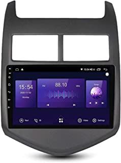 aipipl 9 inch Android 10.0 Double Din GPS Navigation Multimedia Player for Chevrolet Aveo 2011-2013, FM/RDS/DSP/Bluetooth/...