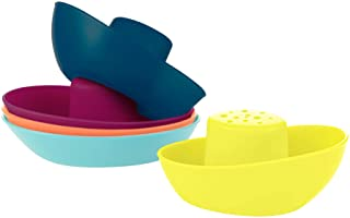 Boon Fleet Stacking Boats - Multicolor (5pcs)
