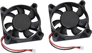 2 Pack ShareGoo 5010SH 5300RPM 5V 50mm50mm Cooling Fan for Hobbywing Ezrun 150A SL PRO V2 Brushless ESC