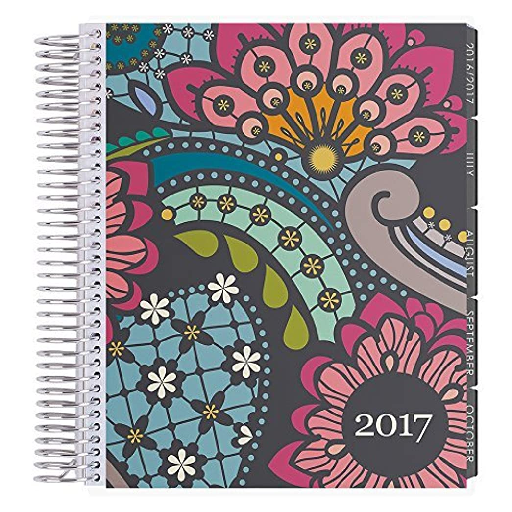 始まり比較緊張するErin Condren 12 Month 2017 Lifeplanner Paisley Vertical Neutral Interior (AMA-12M 2017 26) [並行輸入品]