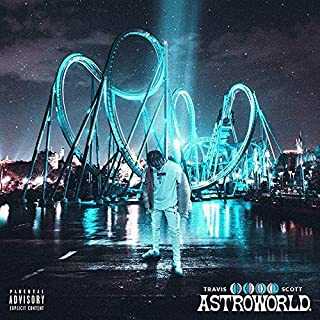 4aa6a6481e04 Album Cover Poster Thick Travis Scott: ASTROWORLD Music 2018 12x18 inch  Rolled