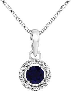 IGI Certified 1/20 to 3/4 Carat Diamond Pendant 10K & 14K Gold Diamond Pendant Necklace for Women Diamond Necklace (Diamond Jewelry Gift, Free Chain Included)