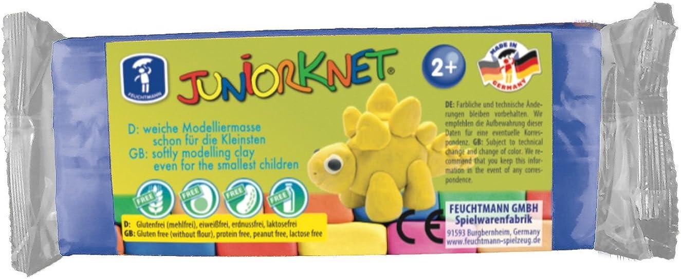 Feuchtmann 628 0013-8 Juniorknet Clay Dough 150 G - Blue, Multi Colour