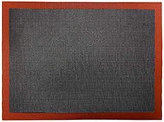 ZHEBEI Tapis de cuisson antiadhésif perforé pour cuisson vapeur 30 x 40 cm