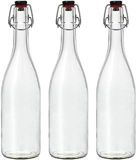 アデリア ウォーターボトル クリア 720ml スイングストッパーボトル 3本入 日本製 M-6446
