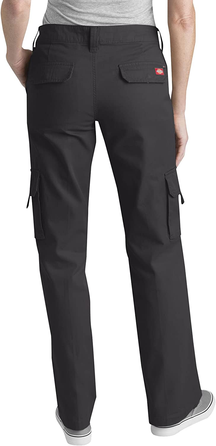 Dickies Women's Relaxed Fit Straight Leg Cargo Pant