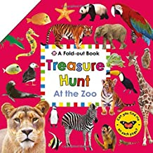 Treasure Hunt: At the Zoo: A Fold-Out Book