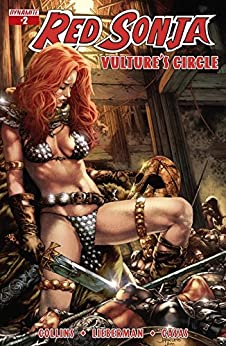 Red Sonja: Vulture's Circle #2: Digital Exclusive Edition by [Nancy Collins, Luke Lieberman]
