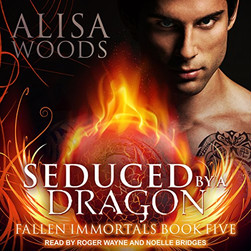 Seduced by a Dragon audiobook cover art
