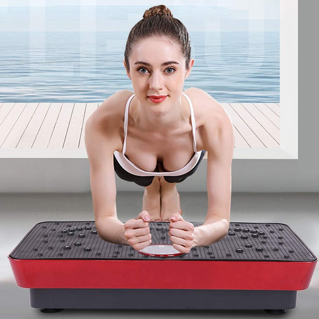 Tponi Vibration SALENEW very popular Plate Exercise Machine Whole Award Body Workout Vibrat