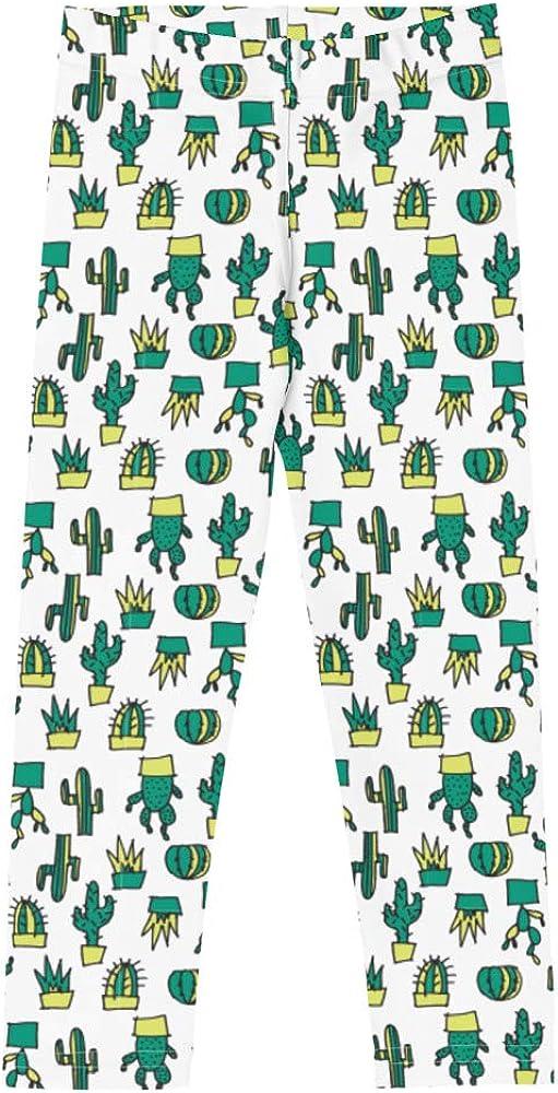 Doodles Collection Little Kid Leggings - CACTacular