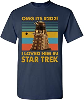 OMG Its R2D2! I Love Him in Star Trek Vintage T Shirt