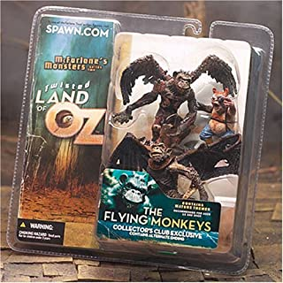McFarlane Toys Club Exclusive Twisted Land of Oz: Flying Monkeys and Munchkin