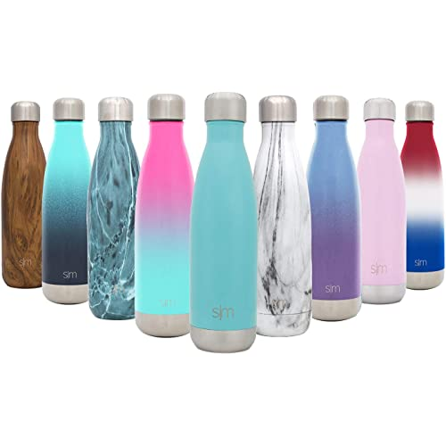 aa4273aaed Simple Modern Wave Water Bottle - Vacuum Insulated Double-Walled 18/8  Stainless Steel