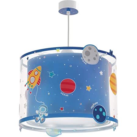 Dalber lampe suspension enfant Planets planètes système solaire