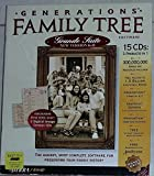 Generations Family Tree, Grande Suite 6.0, 15 cds