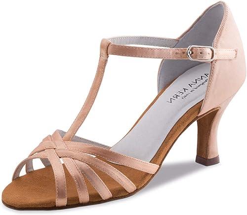 Anna Kern Femmes Chaussures de Danse 470-60 - Satin Tan - 6 cm