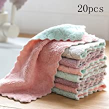 LayTmore Microfiber Kitchen Towel,Highly Absorbent Dish Towels,Soft and Quick-drying, Super Durable Cleaning Cloth and towel
