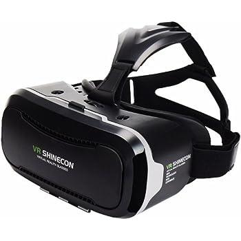 VR SHINECON 3D VRゴーグル ヘッドセット iphone android 4.0~6.0インチ スマホ対応