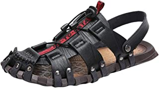 Sandals Fishermen Outdoor Closed Toe Sandals for Men Outdoor Hiking Breathable Sport Athletic Fishermen Shoes