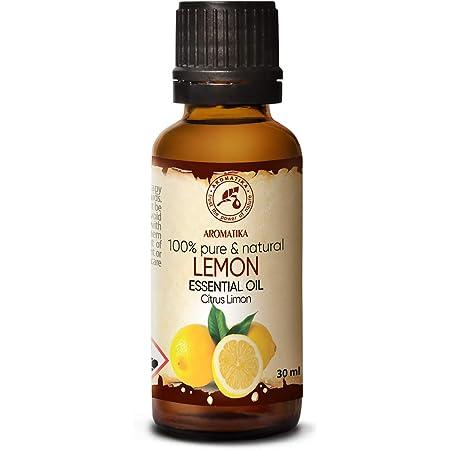 Aceite Esencial De Limón 30ml Citrus Limon Aromaterapia En Su Casa Aceites Esenciales Aceite De Limón